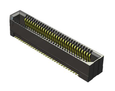 连接器 板对板连接器 0.8mm Rugged High-Speed Board to Biard Female Connector